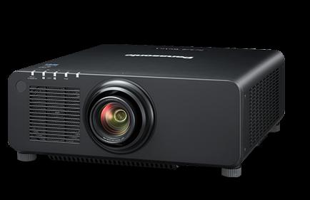Panasonic PT-RX110L Ohne Objektiv Demoware Schwarz