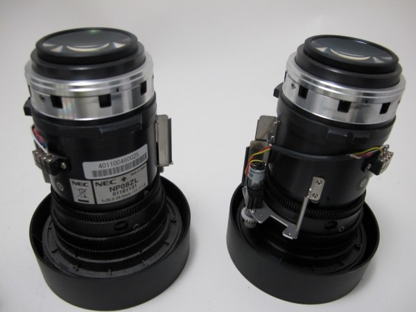 NEC NP01FL Objektiv Ultra Weitwinkel LCD 0.8:1