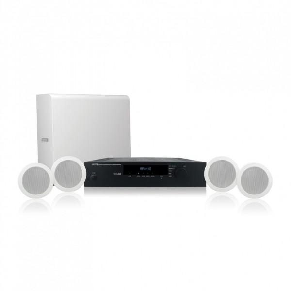apart Shopset-o (Einbausystem) Lautsprecher-Komplettlösung