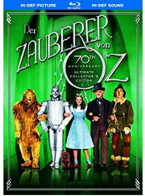 Bluray - Der Zauberer von Oz - 70th Anniversary Ultimate Collector's Edition, 2 CDs - Preis inkl. Mw