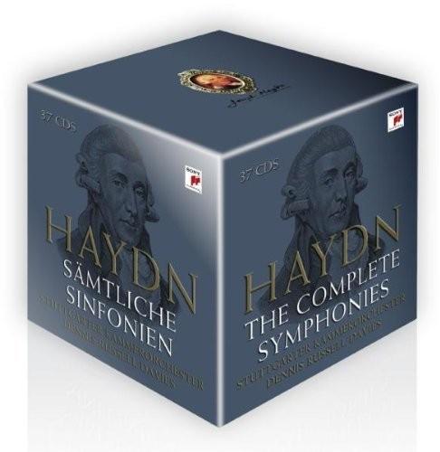 Joseph Haydn: The Complete Symphonies (2009) CD-Box - limitiert Audio CD Import