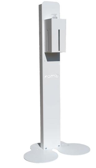 mobiler Ständer 117cm weiß