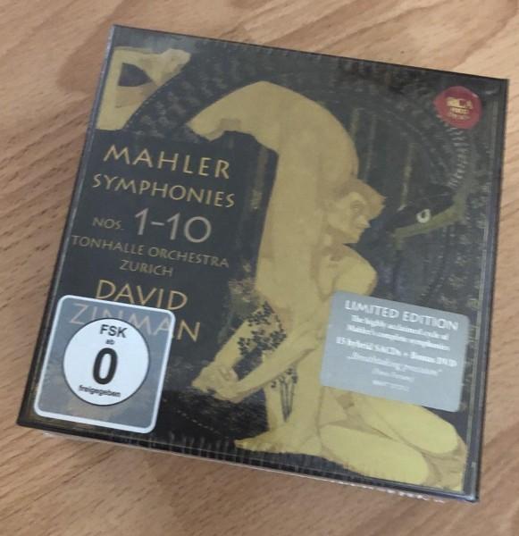Mahler: Sinfonien Nr. 1-10 Neu Original verpackt sealed