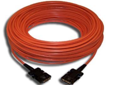 Kramer C-FODM/FODM-164 DVI Fiber Optic / Kupfer Kabel 50m