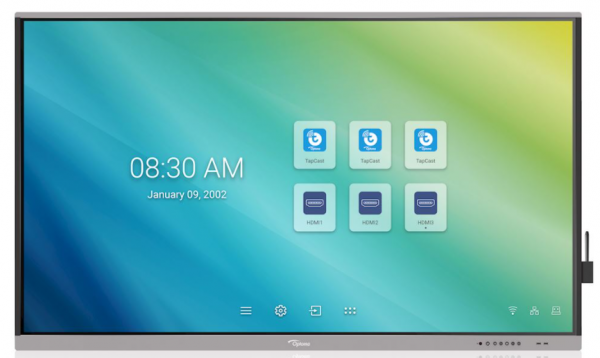 "Optoma Creative Touch 5651RK 65"" - Premium Interaktives Display"