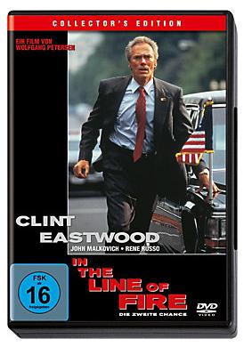 DVD - In the Line of Fire-Die zweite Chance - Preis inkl.MwSt und Lieferung