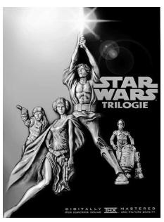 DVD - Star Wars Trilogie (4 DVDs) 2004 - inkl. MwSt. und Lieferung