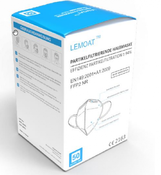 FFP2 Maske - LEMOAT BY01 (5-lagig) - CE 2163