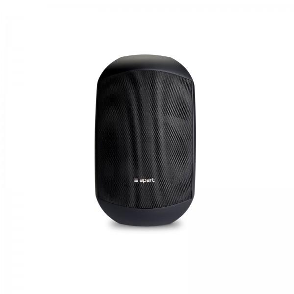 apart MASK6CT-BL ,schwarz, Paar Passiv-Lautsprecher