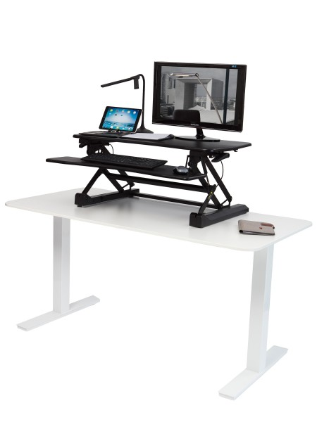 "ALBA Work station ""Sit-to-stand"" MHSTANDS N Schwarz"
