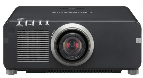 PANASONIC PT-DZ870EK NEUWERTIG incl. Optik 1,70-2,40: 1 - Neuwertige Demoware mit nur 11H Laufleistu