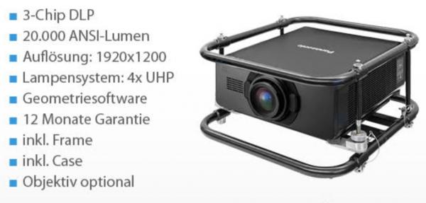 Projektor Panasonic PT-DZ21K2 TOP-Demoware 12 Monate Garantie