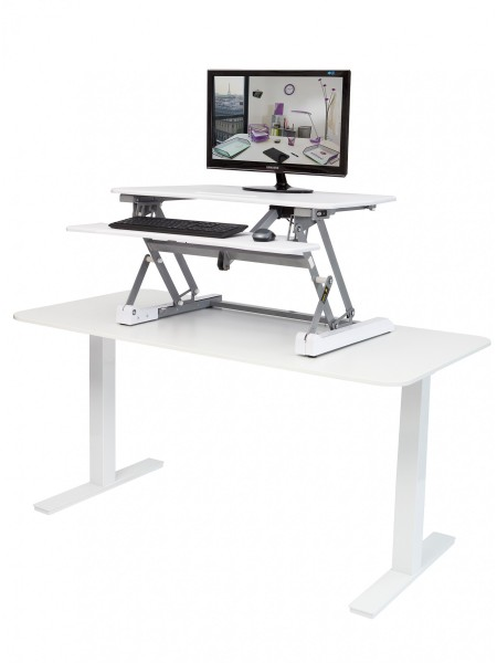 "ALBA Work station ""Sit-to-stand"" MHSTANDS BC Weiß"