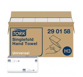 Tork Universal Papierhandtücher Zellstoff V-Falz 23 x 23 cm 1-lagig