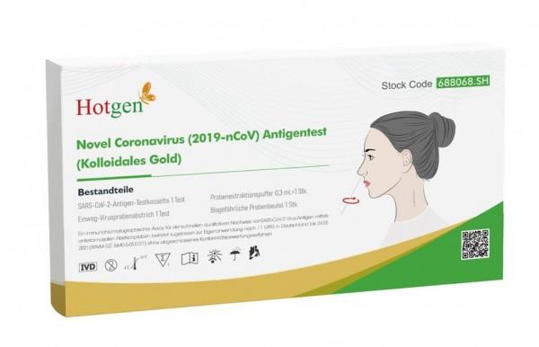 Hotgen COVID-19 Antigen-Schnelltest-Antigentest Laientest