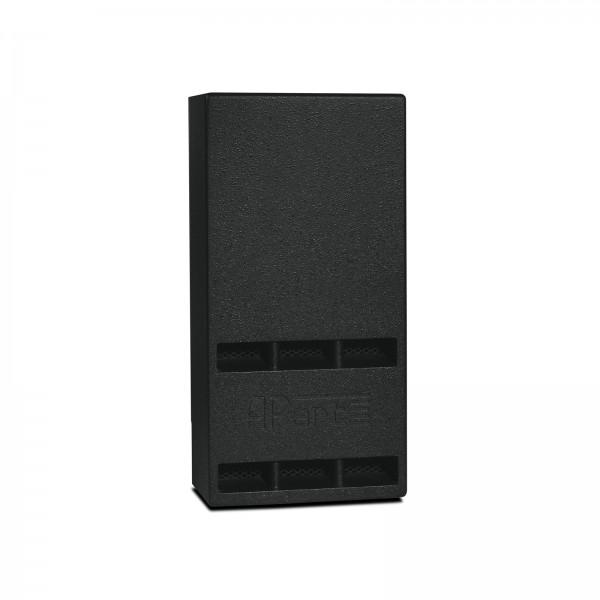 apart SUB2201-BL, Stück Passiv-Subwoofer, schwarz