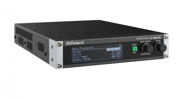 ROLAND VC-100UHD - 4K Video Scaler mit USB3.0 für Web-Streaming - in schwarz