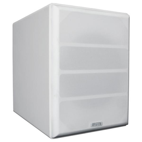 apart SUBA165-W, Stück Aktivsubwoofer, 1x140W, weiß