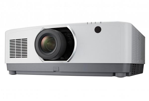 NEC PA804UL Laserprojektor Weiß mit Objektiv Ratio 1.5-3.02:1