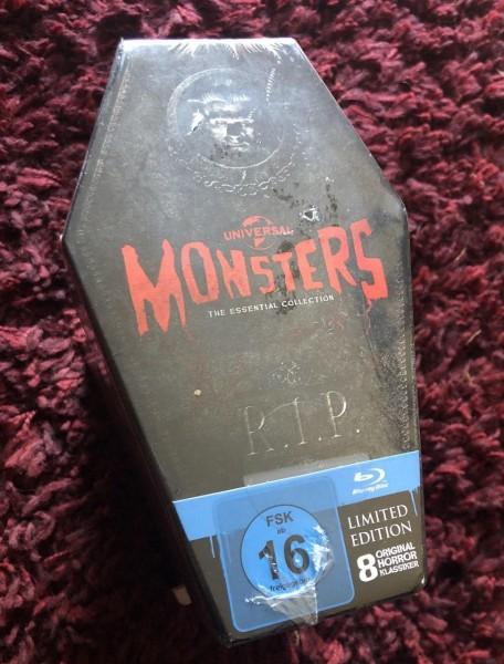 Blu-ray - Universal Monsters - Monster Sarg Collection [Blu-ray] - Neu OVP
