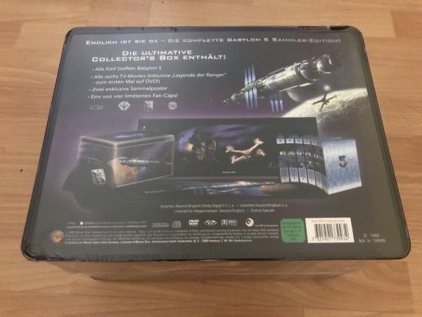 DVD - Spacecenter Babylon 5 Superbox (Alle Staffeln und 6 Einzeltitel inkl. Legende der Ranger)